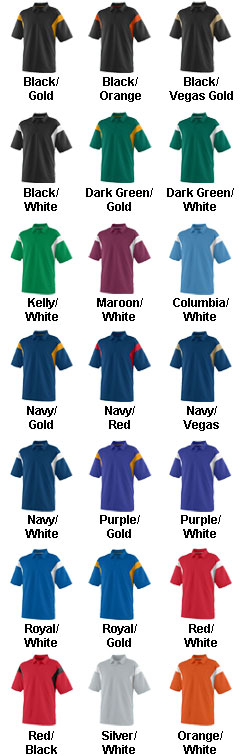Adult Wicking Textured Sideline Sport Shirt - All Colors