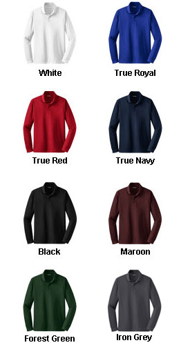 Long Sleeve Micropique Sport-Wick� Polo - All Colors