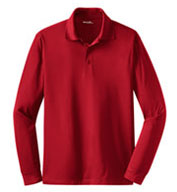 Custom Long Sleeve Micropique Sport-Wick® Polo Mens