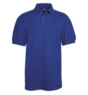 Custom Hanes Men�s 7 oz. ComfortSoft® Cotton Piqué Polo