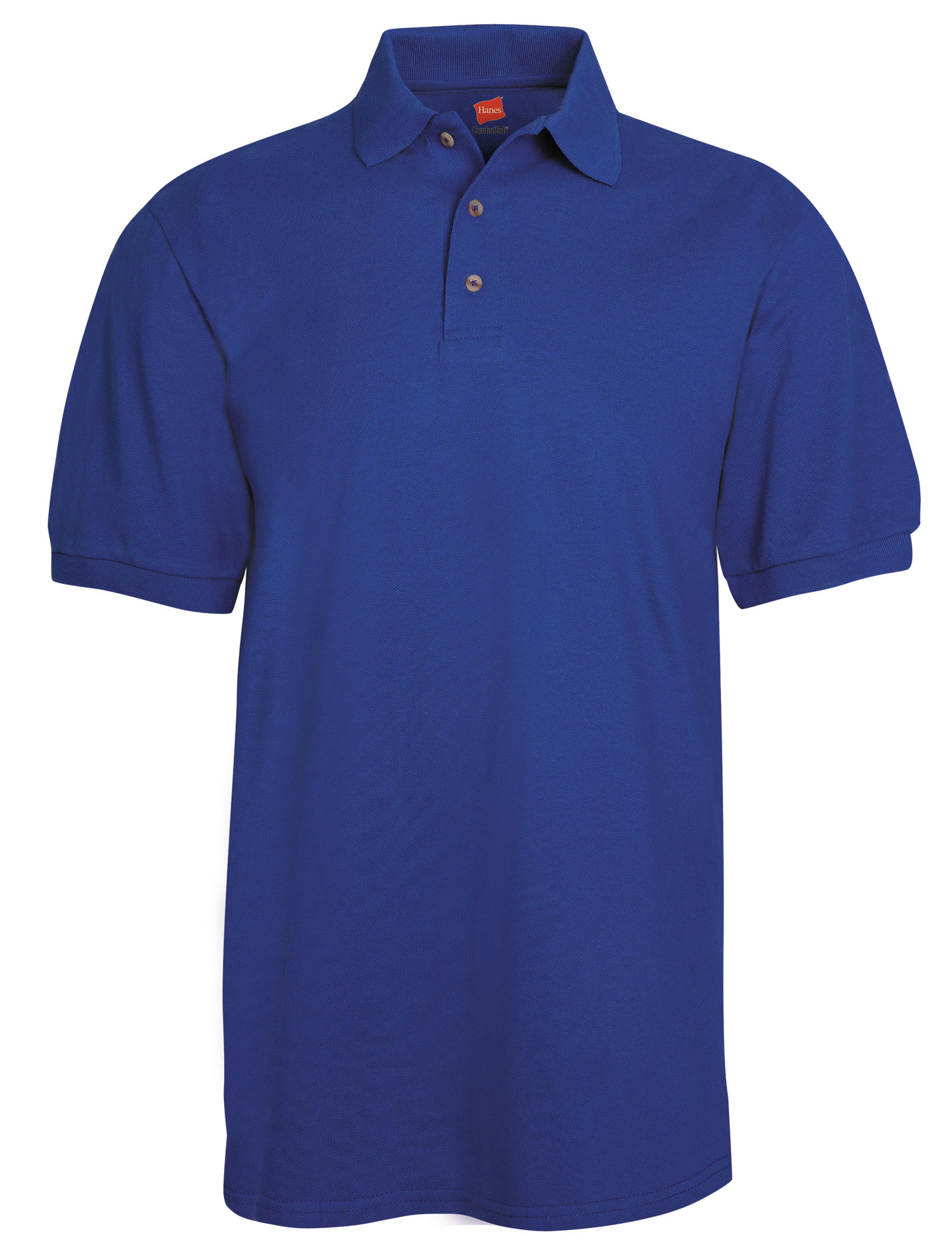 Hanes Mens 7 oz. ComfortSoft� Cotton Piqu� Polo