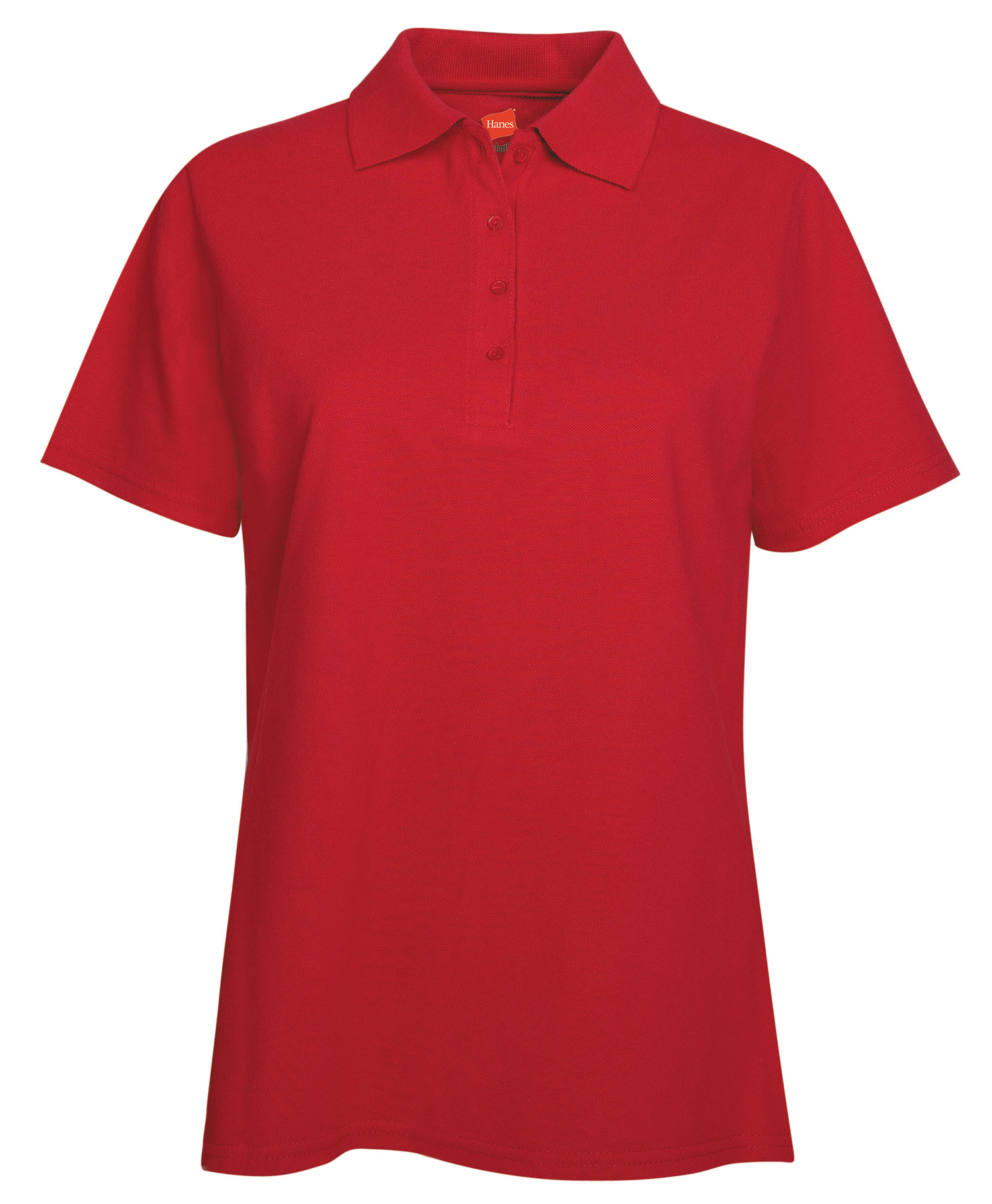 Hanes Ladies 7 oz. ComfortSoft® Cotton Piqué Polo