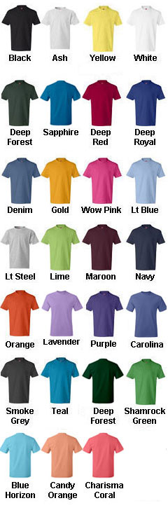 Hanes Youth 6.1 oz. Tagless� ComfortSoft� T-Shirt - All Colors