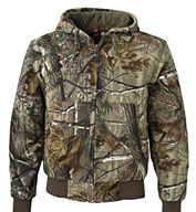 Cheyenne Camouflage Canvas Work Jacket by Dri Duck