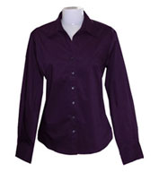 Custom Jockey Ladies Perfect Poplin with Wrinkle-Resistant Finish