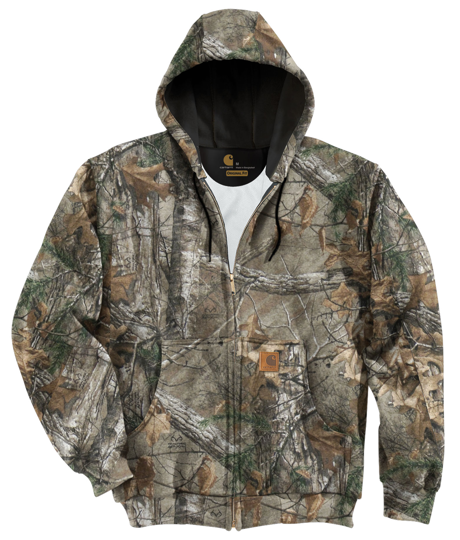 Carhartt Midweight WorkCamo� AP Hooded Zip-Front Sweatshirt