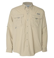 Custom Columbia Bahama II Long Sleeve Fishing Shirt