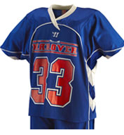 Custom Mens Liberty Game Lacrosse Jersey by Warrior