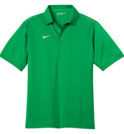 Custom Nike Golf Mens Dri-FIT Sport Swoosh Pique Polo