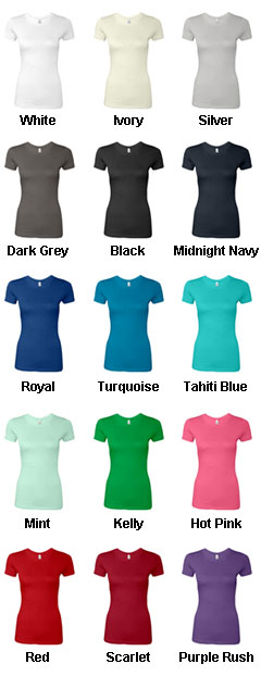 Next Level Ladies T-Shirt - All Colors