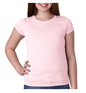 Custom Next Level Youth Cotton Princess Tee