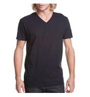 Next Level Mens Premium Fitted Cotton Short-Sleeve V-Neck Tee