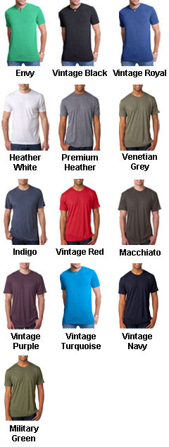 Next Level Mens Tri-Blend Crew Neck Tee - All Colors