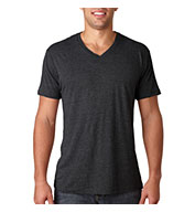Custom Next Level Adult Tri-Blend V-Neck Tee Mens