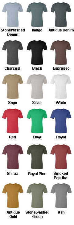 Next Level Mens Poly/Cotton Crew Neck Tee - All Colors