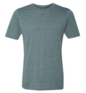 Next Level Mens Poly/Cotton Crew Neck Tee