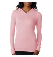Custom Next Level Ladies Soft Thermal Poly/Cotton Hoodie