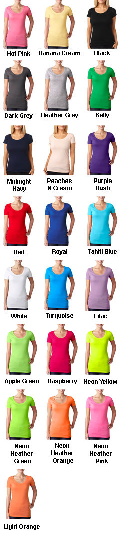 Next Level The Ladies Cotton Scoop Tee - All Colors