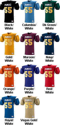 Adult Dominator Football Jersey - All Colors
