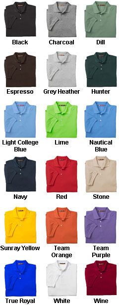Mens 5.6 oz. Easy Blend Polo Shirt - All Colors