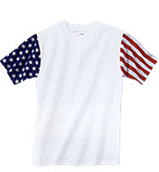 Custom Youth Code V Stars & Stripes T-shirt