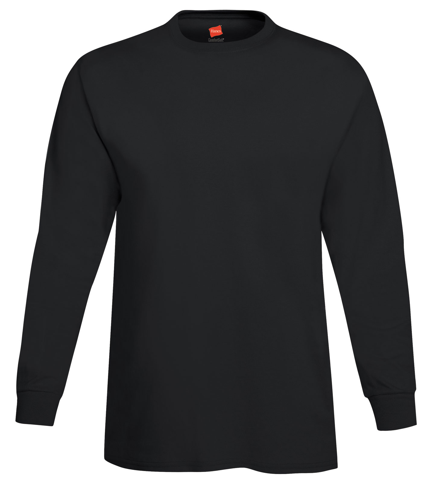 Adult Hanes ComfortSoft� Heavyweight Long Sleeve T-Shirt