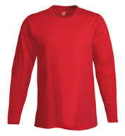 Hanes 4.5 oz. Ringspun Cotton Nano-T® Long-Sleeve T-Shirt