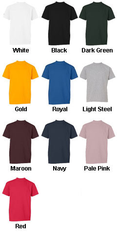 Champion Youth 6.1 oz. Tagless T-Shirt - All Colors
