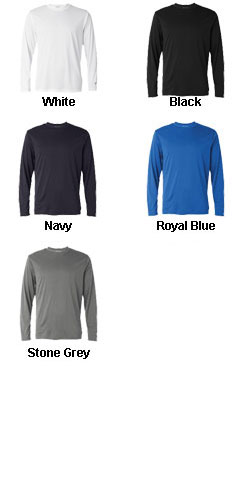 Champion Mens 4 oz. Double Dry® Performance Long-Sleeve T-Shirt - All Colors