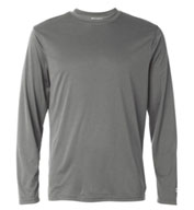 Custom Champion Mens  Double Dry® Performance Long-Sleeve T-Shirt