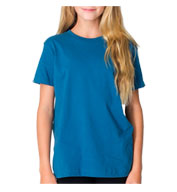 American Apparel Organic Youth Fine Jersey T-Shirt