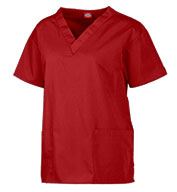 Custom Dickies Medical Ladies V-Neck Scrub Top - In 8 Colors