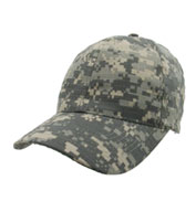Custom Digital Camo Cap with Adjustable Velcro Back