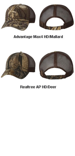 Dri Duck Mesh Wildlife Series Trucker Cap - All Colors