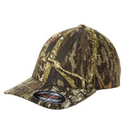 Custom Adult Flexfit Mossy Oak Camouflage Cap