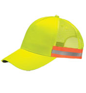 Adams ANSI Snap Back Trucker Reflective Cap