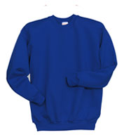 Hanes Youth 7.8 oz. ComfortBlend® EcoSmart® 50/50 Fleece Crew
