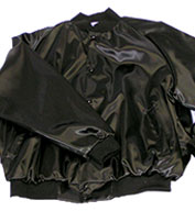 Adult Mens Pro-Satin Baseball Jacket with Flannel-Lining