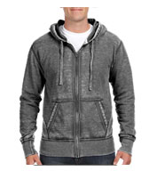 J. America Vintage Zen Fleece Full-Zip Hooded Sweatshirt