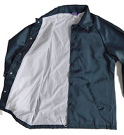 Custom Oxford Coaches Flannel Lined Sports Jacket Mens