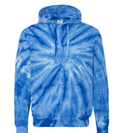 Custom Adult Cotton Tie-Dyed Hoodie