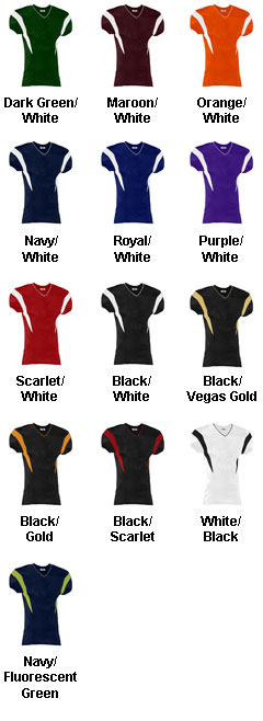 Teamwork Youth Double Coverage Football Jersey  - All Colors
