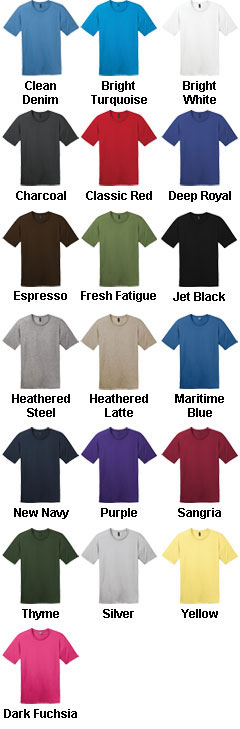 District Made� Mens Perfect Weight Crew Tee - All Colors