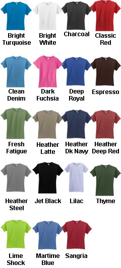 District® - Juniors Short Sleeve Perfect Weight Crewneck Tee - All Colors