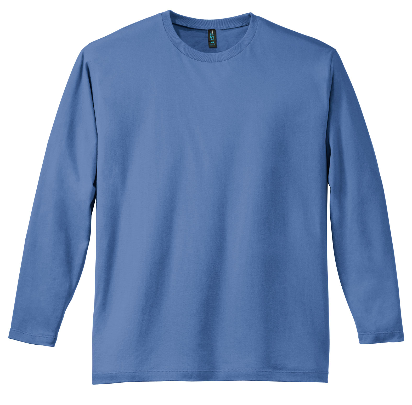 District Made� Mens Perfect Weight Long Sleeve Tee