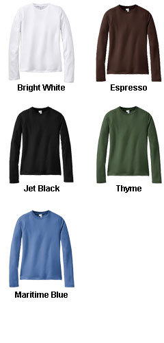 District� - Juniors Perfect Weight Long Sleeve Tee - All Colors