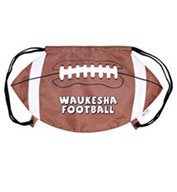 Football Drawstring Backpack