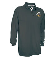Custom Mens Game Day Long Sleeve Polo by Russell Athletic