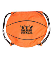 Custom Basketball Drawstring Pack