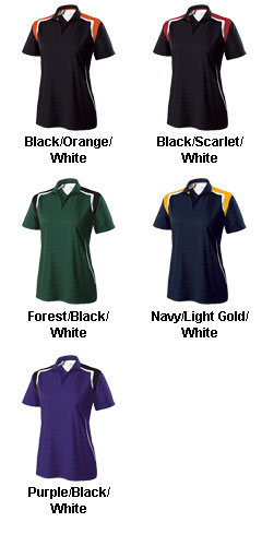 Ladies Catalyst Polo by Holloway - All Colors
